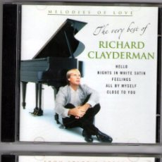 CDs de Música: DOBLE CD ÁLBUM: RICHARD CLAYDERMAN - 36 TRACKS - DISKY COMMUNICATIONS 2003. Lote 68126669