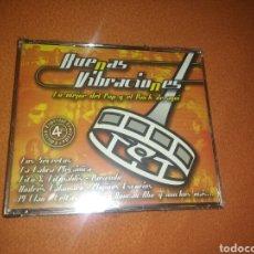 CDs de Música: BUENAS VIBRACIONES CD X 4 PRECINTADO PPP ESPAÑOL. Lote 68192791