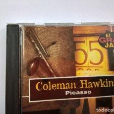 CDs de Música: COLEMAN HAWKINS-PICASSO-CD-EL GRAN JAZZ-12 TEMAS-N. Lote 68255409