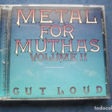 CDs de Música: CD ALBUM COMO NUEVO ¡¡ METAL FOR MUTHAS VOLUME II CUT LOUD RECOPILACION GRUPOS BRITISH HEAVY METAL. Lote 68270437