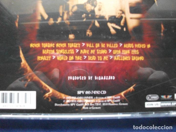 CDs de Música: BIOHAZARD - KILL OR BE KILLED - cd COMO NUEVO ¡¡¡ PEPETO - Foto 2 - 68272073