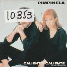 CDs de Música: PIMPINELA / CALIENTE,CALIENTE (CD SINGLE CARTON PROMO 1998). Lote 68354229