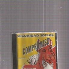 CD de Música: SEGURIDAD SOCIAL COMPROMISO. Lote 192919617
