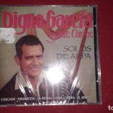 CDs de Música: CD NUEVO PRECINTADO DIGNO GARCÍA Y SUS CARIOS SOLOS DE ARPA 14 TEMAS REF ESP MASC. Lote 68412945