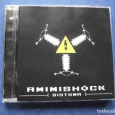 CDs de Música: AMIMISHOCK,SISTEMA DEL 2004 CD ALBUM COMO NUEVO¡¡¡ PEPETO. Lote 68426665
