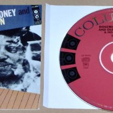 CDs de Música: ROSEMARY CLOONEY WITH DUKE ELLINGTON AND HIS ORCHESTRA: BLUE ROSE (REMASTERED & EXPANDED) - JAZZ. Lote 68494341
