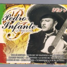 CDs de Música: PEDRO INFANTE - LO MEJOR (2CD 1986, OK RECORDS CD-5160/5161). Lote 68504765