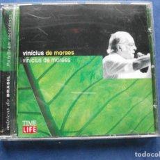 CDs de Música: VINICIUS MORAES VINICIUS MORAES CD ALBUM COMO NUEVO¡¡ PEPETO. Lote 68526877