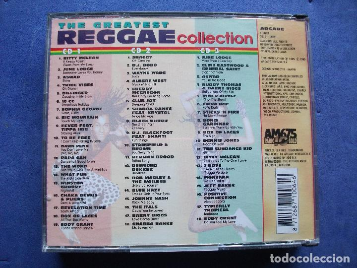 The greatest reggae collection triple cd box ar - Sold through