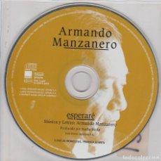 CDs de Música: ARMANDO MANZANERO / ESPERARE (CD SINGLE PICTURE PROMO). Lote 68534809