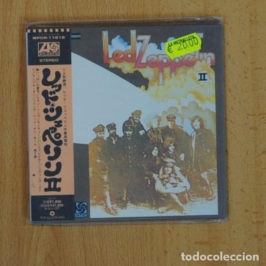 LED ZEPPELIN - II - CD (Música - CD's Rock)