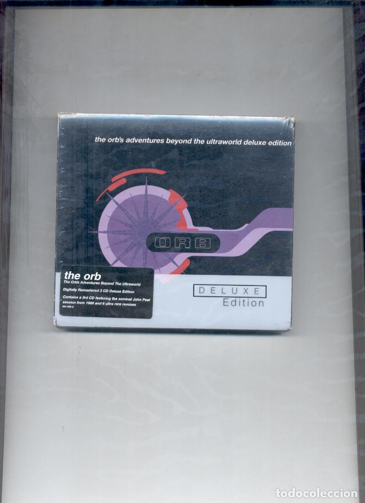 THE ORB´S ADVENTURES BEYOND THE ULTRAWORLD DELUXE EDITION CD (Música - CD's Techno)