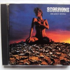 CDs de Música: SCORPIONS. DEADLY STING. CD EMI ELECTROLA 724383224227. HOLLAND 1995.. Lote 68591965