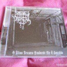 CDs de Música: LAMURIA ABISSAL - O ÚLTIMO DESCANSO FINALMENTE LHE É CONCEDIDO CD - BLACK METAL. Lote 47703718