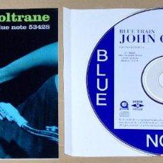 CDs de Música: JOHN COLTRANE: BLUE TRAIN (REMASTERED & EXPANDED) - JAZZ - BLUE NOTE. Lote 68674173