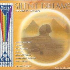 CDs de Música: SILENT DREAMS - 3 CDS - THE BEST OF NEW AGE. VANGELIS, GANDALF,RICK WAKEMAN,LOREENA MCKENNIT,. Lote 68691149