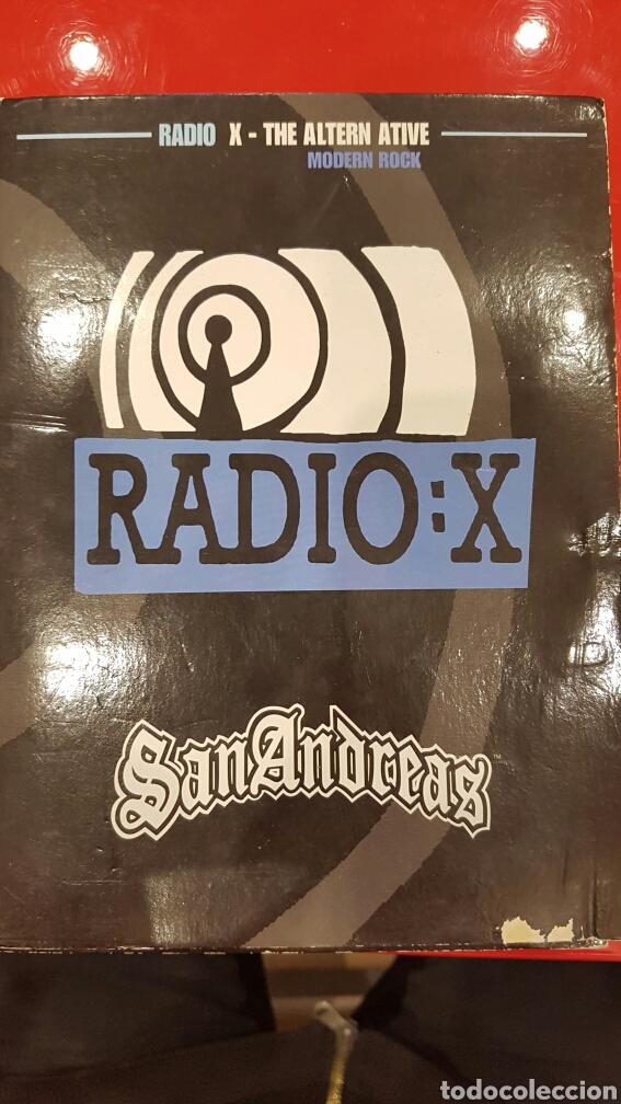 grand theft auto san andreas radio x