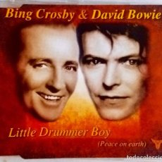 CDs de Música: DAVID BOWIE & BING CROSBY. LITTLE DRUMMER BOY,VILLANCICO EL TAMBORILERO + 3 TEMAS. CD SINGLE AUSTRIA. Lote 68725377