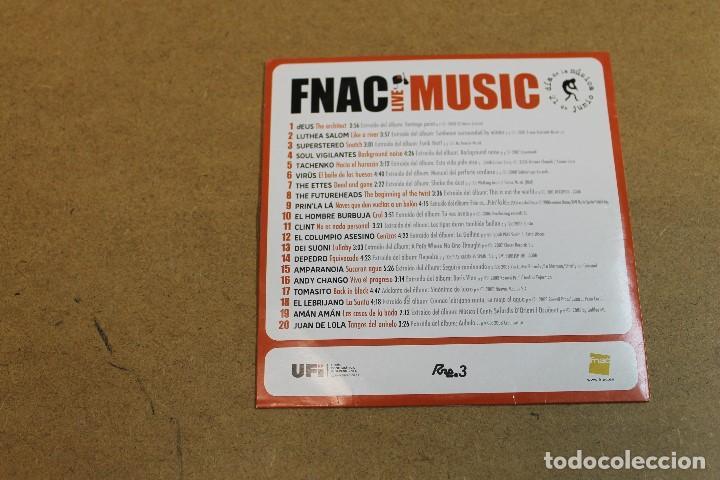 CDs de Música: CD LA MUSICA ESTA VIVA EN EL FNAC - Foto 2 - 68786825