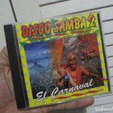 CDs de Música: DISCO SAMBA 2 EL CARNAVAL REGINA DO SANTOS 1994-MUY RARO EN CD-IMPOSIBLE ENCONTRAR. Lote 68789105