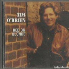 CDs de Música: TIM O´BRIEN. RED ON BLONDE. SUGAR HILL RECORDS. USA 1996.. Lote 68891413