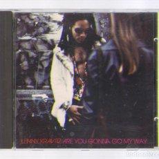 CDs de Música: LENNY KRAVITZ - ARE YOU GONNA GO MY WAY (CD 1993, VIRGIN 0777 7 86984 2 5). Lote 68906013