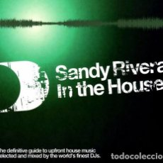 CDs de Música: SANDY RIVERA - IN THE HOUSE - 2XCD. Lote 68922009