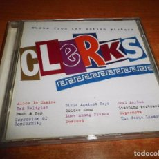 CDs de Música: CLERKS BANDA SONORA CD ALBUM 1994 AUSTRIA ALICE IN CHAINS BAD RELIGION BASH & POP GOLDEN SMOG. Lote 68938133
