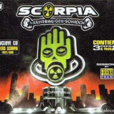 CDs de Música: CD SCORPIA CENTRAL DEL SONIDO ¨FOREVER¨ (3 CD). Lote 117811184
