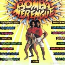 CDs de Musique: CD BOMBA MERENGUE. Lote 68967697