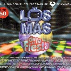 CDs de Música: CD LOS MÁS DE LA FIESTA (3 CD). Lote 68972153