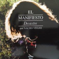 Cd Nacho Vegas. El Manifiesto Desastre. Digipack