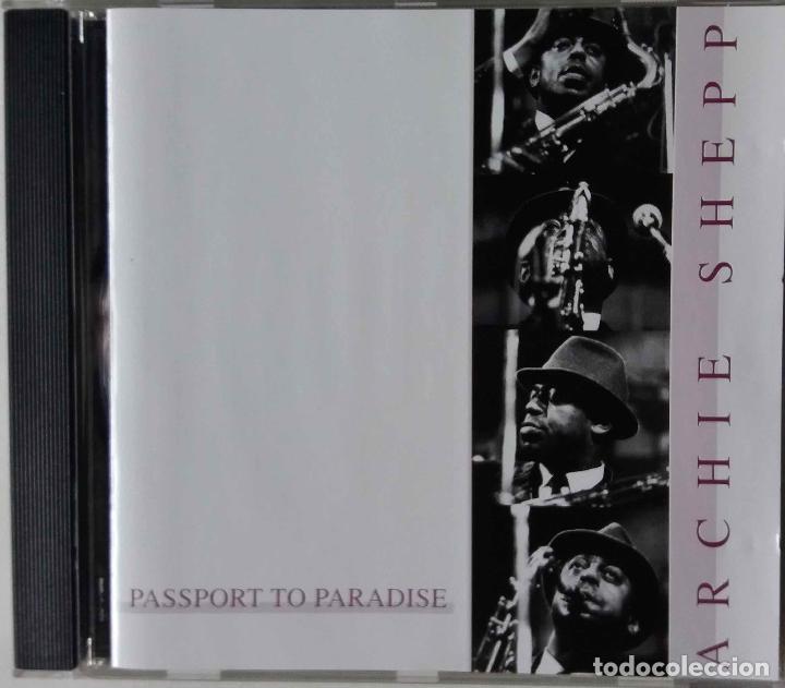 ARCHIE SHEPP. PASSPORT TO PARADISE. CD 5 TEMAS (Música - CD's Jazz, Blues, Soul y Gospel)