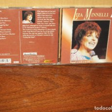 CDs de Música: LIZA MINNELLI - THE ACT - CD . Lote 69101449