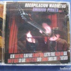 CDs de Música: RECOPILACION MAQUETAS EMISION PIRATA VOL.1 CD 2004 HEAVY BLACK HAZE GATA SAMHAIN AC/NE SAFER PEPETO. Lote 69121609