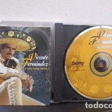 CDs de Música: VICENTE FERNANDEZ Y SUS CANCIONES CD ORIGINAL USA 1996. Lote 69122585