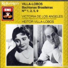 CDs de Música: HEITOR VILLA-LOBOS. CD BACHIANAS BRASILEIRAS. 1,2,5 Y 9. Lote 69181325