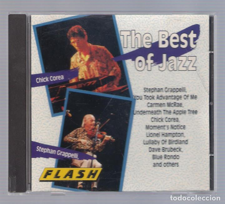 VARIOS - THE BEST OF JAZZ (CD FLASH 8347-2) (Música - CD's Jazz, Blues, Soul y Gospel)