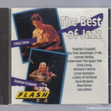 CDs de Música: VARIOS - THE BEST OF JAZZ (CD FLASH 8347-2). Lote 69246125