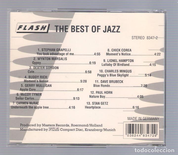 CDs de Música: VARIOS - The Best Of Jazz (CD Flash 8347-2) - Foto 2 - 69246125
