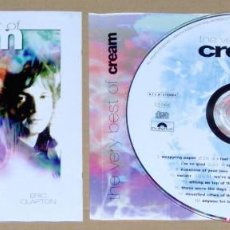 CDs de Música: THE VERY BEST OF CREAM, 1966-1968 (GINGER BAKER, JACK BRUCE & ERIC CLAPTON). Lote 69276813