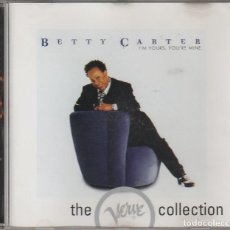 CDs de Música: JAZZ THE VERVE COLLECTION - BETTY CARTER / I'M YOURS, YOU'RE MINE (CD VERVE). Lote 69341517
