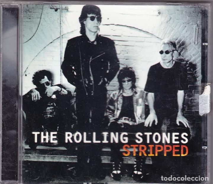 M - THE ROLLING STONES - STRIPPED - VIRGIN 1995 EEUU (Música - CD's Rock)