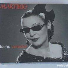 CDs de Música: MARTIRIO - MUCHO CORAZÓN. 1CD. PRECINTADO.. Lote 69378069