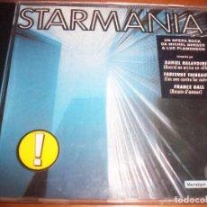 CDs de Música: CD STARMANIA. OPERA ROCK DE MICHEL BERGER Y LUC PLAMONDON. EDICION WEA DE 1991 (FRANCIA). RARO. Lote 69410589