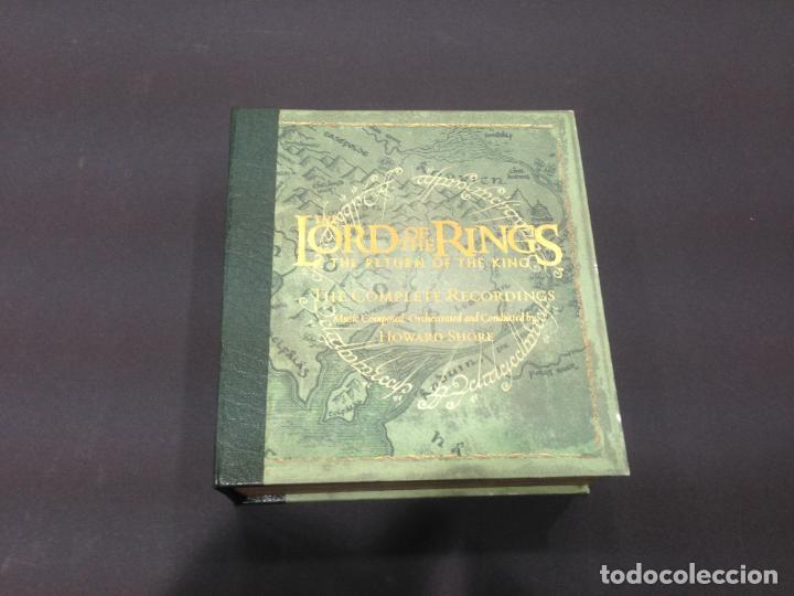 BOX SET 4 CD + DVD BSO THE LORD OF THE RINGS THE RETURN OF THE KING THE COMPLETE RECORDINGS (Música - CD's Rock)