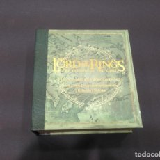 CDs de Música: BOX SET 4 CD + DVD BSO THE LORD OF THE RINGS THE RETURN OF THE KING THE COMPLETE RECORDINGS. Lote 235230280
