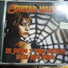 CDs de Música: GUITAR MAFIA - LAS JOVENES Y BELLAS CRIATURAS DE LOS BAJOS FONDOS - CD. Lote 69543117