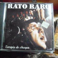 CDs de Música: RATO RARO TERAPIA DE CHOQUE CD. Lote 69547221