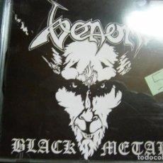 CDs de Música: VENOM - BLACK METAL CD. Lote 69547625